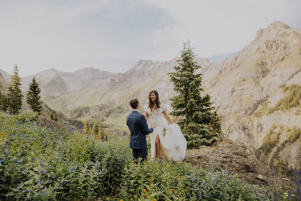 ouray colorado mountain elopemen