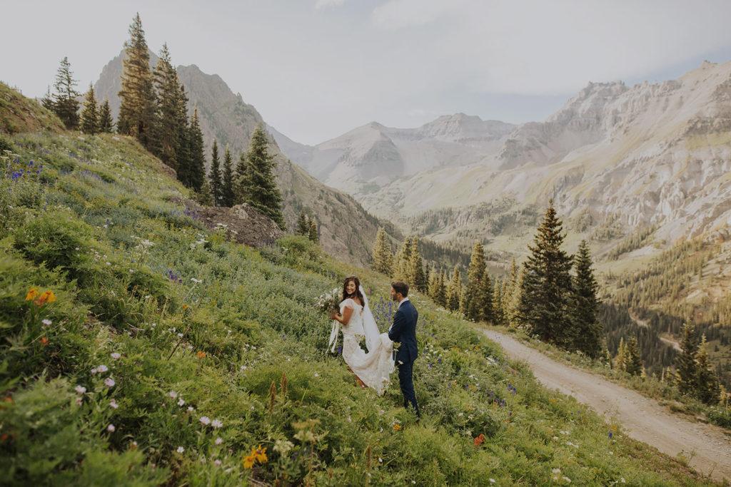 ouray, colorado elopement
