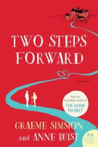 The cover of the book Two Steps Forward. This is a book about walking the Camino de Santiago. However, it is not a memoir. This is a book of fiction.