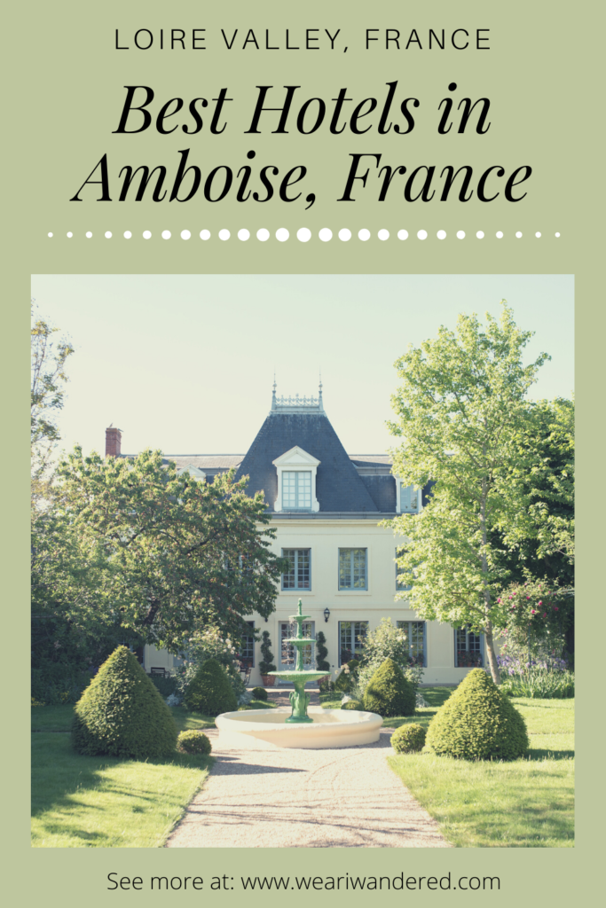 Amboise is a perfect city to stay while you visit the Loire Valley. Amboise is picture perfect with lots of great places to stay. Check out this list of the best places to stay in Amboise!