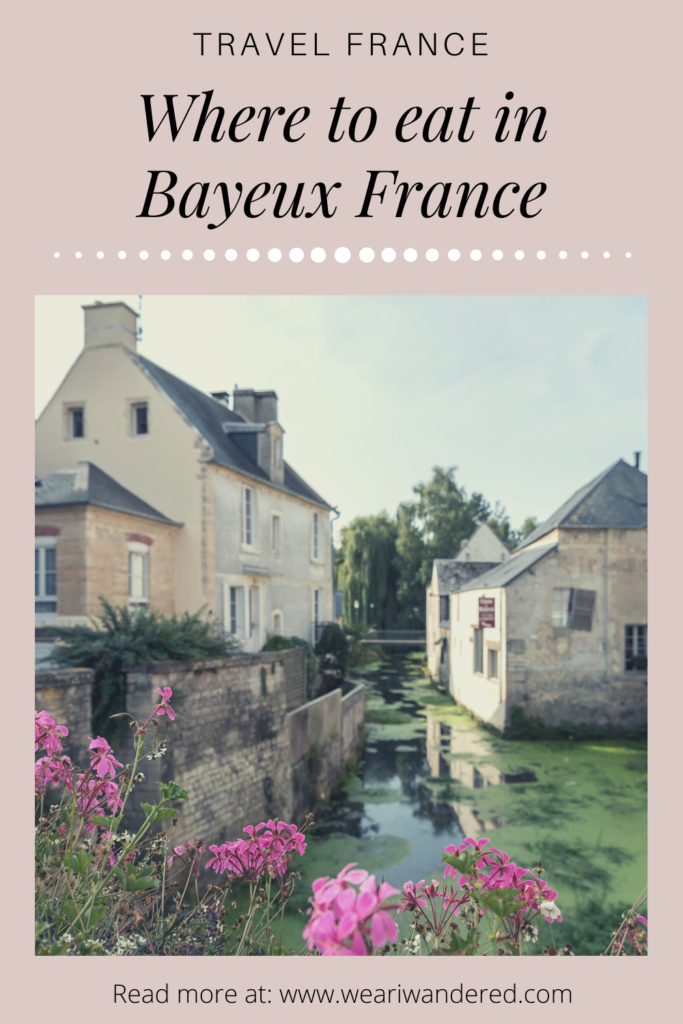 All the best restaurants in Bayeux France. There are plenty of great places to eat in Bayeux. This is a perfect little town in the Normandy region of France.