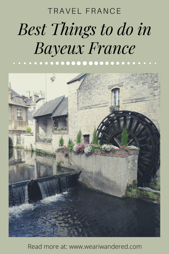 There are many great things to do in Bayeux France. From the Bayeux tapestries to the D Day Beaches. Bayeux is a perfect place to stay to visit the lovely area of Normandy.