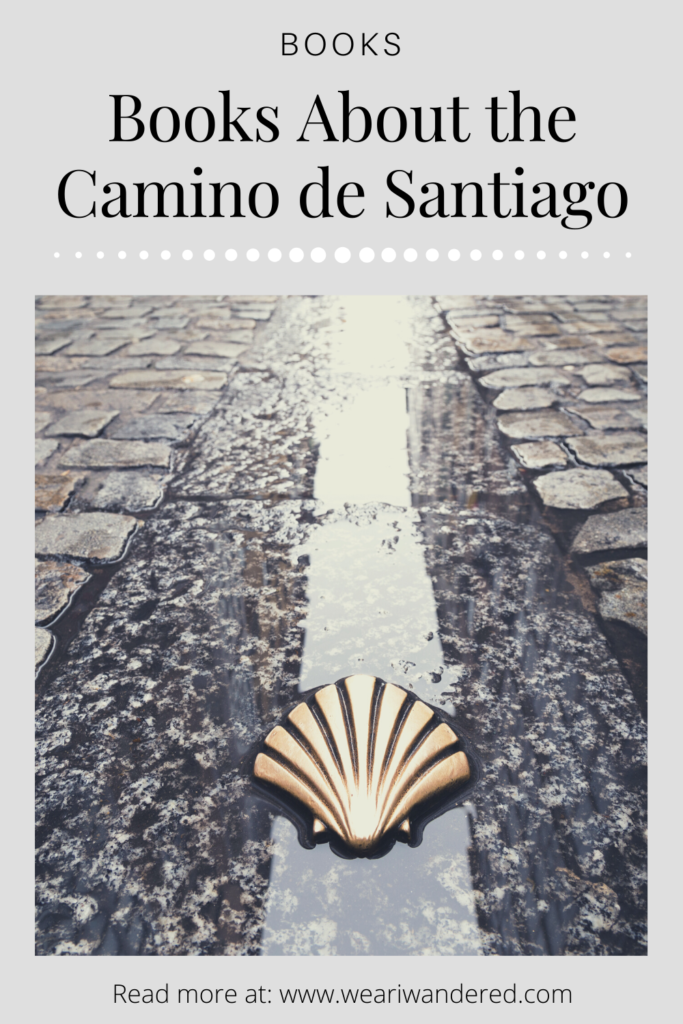 The shell is the symbol of the Camino De Santiago. This is a list of books about walking this ancient pilgrimage in a modern day world. The Camino de Santiago is a walk across the northern part of Spain from the border of France to the city of Santiago. The Camino started as a spiritual walk but now people walk for many reasons as you will see from this list of Camino de Santiago books.