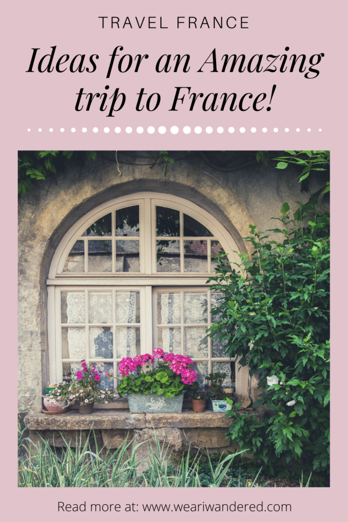 We had a perfect two week trip to France. Our itinerary for France included Paris, the Loire Valley, Burgundy, and Normandy. Take a look at this post to plan your own perfect France itinerary!