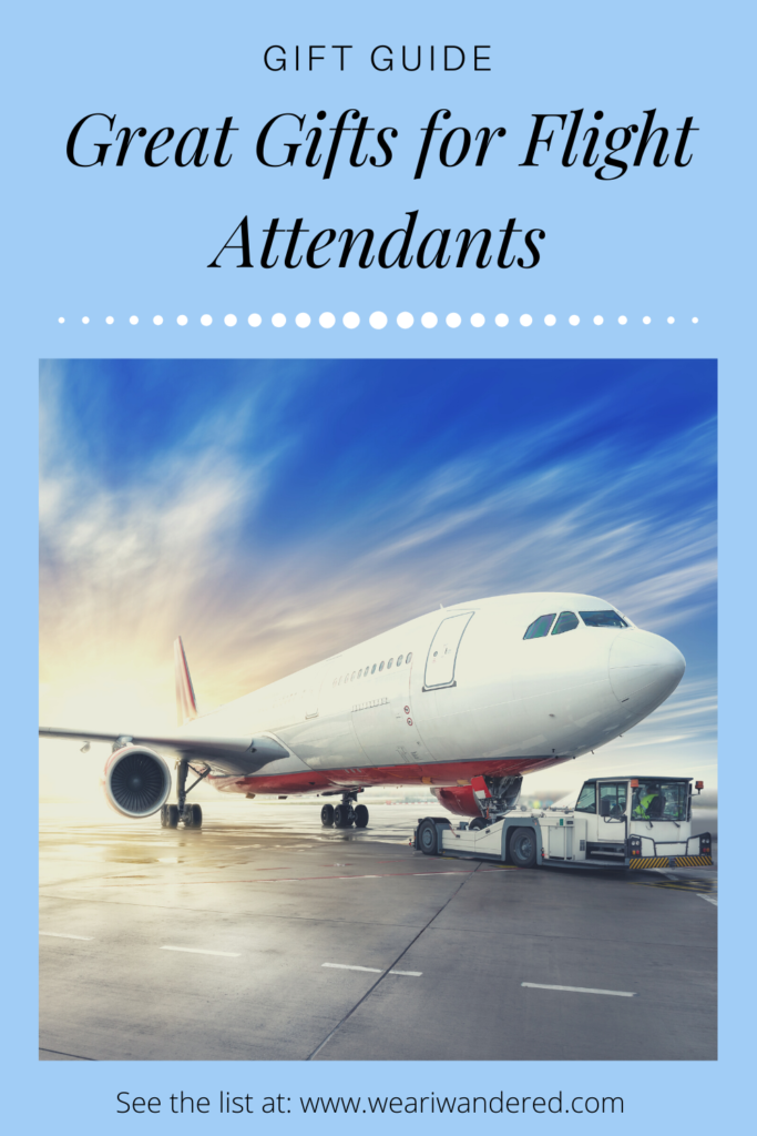 Here is a list of wonderful gifts for the Flight Attendant in your life! There are some great flight attendants gift ideas in this post!